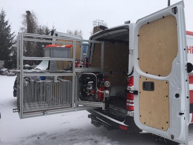 Spezial Einbauten Kofferraum Sprinter