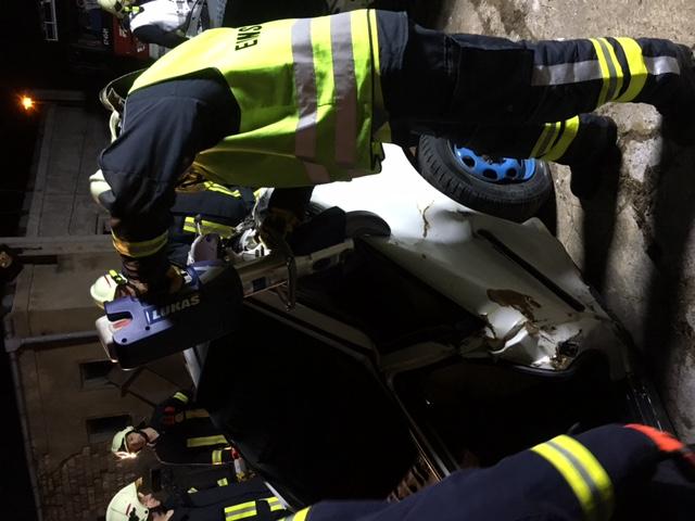 Feuerwehr Gerätevorführung