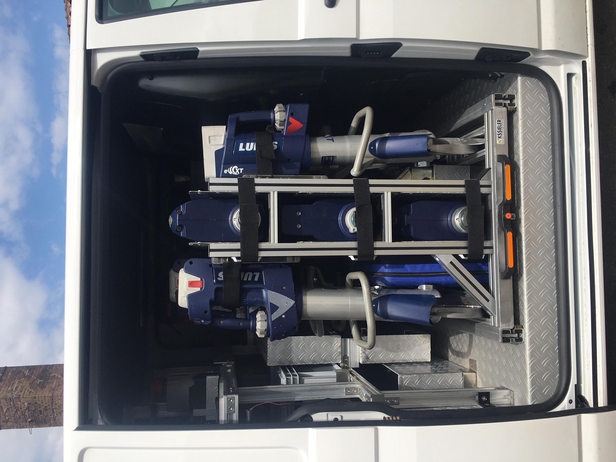 Vorführfahrzeug LUKAS Hydraulik GmbH