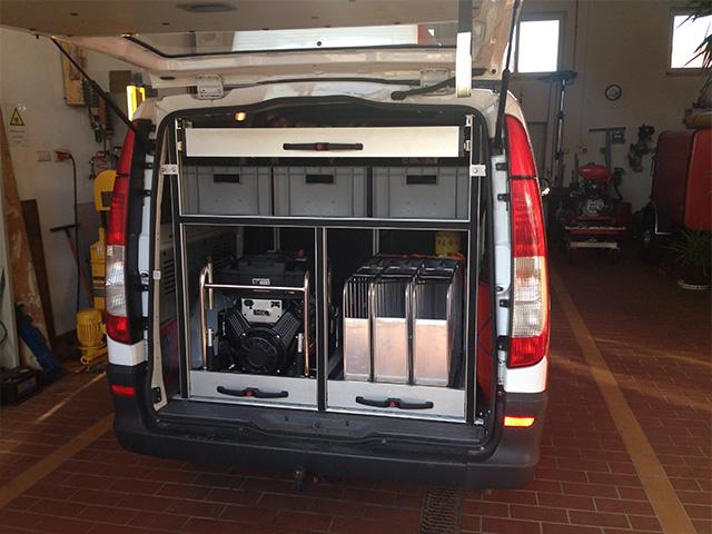 Spezial Einbauten Kofferraum