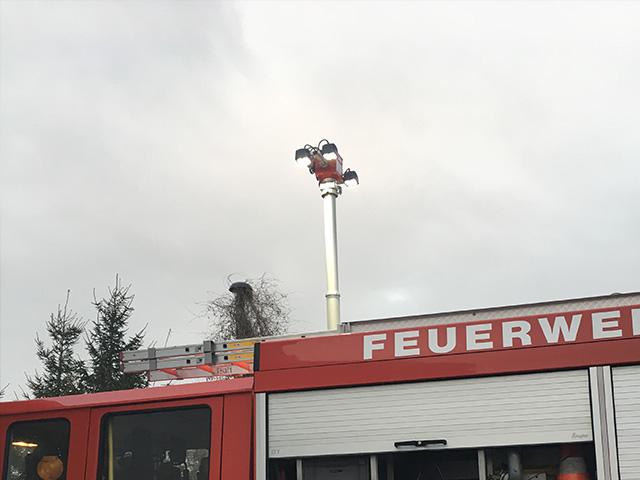 Feuerwehr Tröglitz Lichtanlage