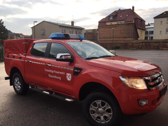 Feuerwehr Naumburg Pickup